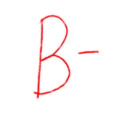 b minus