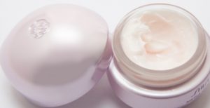 an open bottle of anal whitening cream
