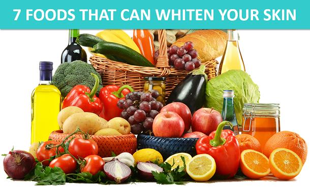 whitening foods