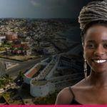 Ghana woman taking pills for whiter babies